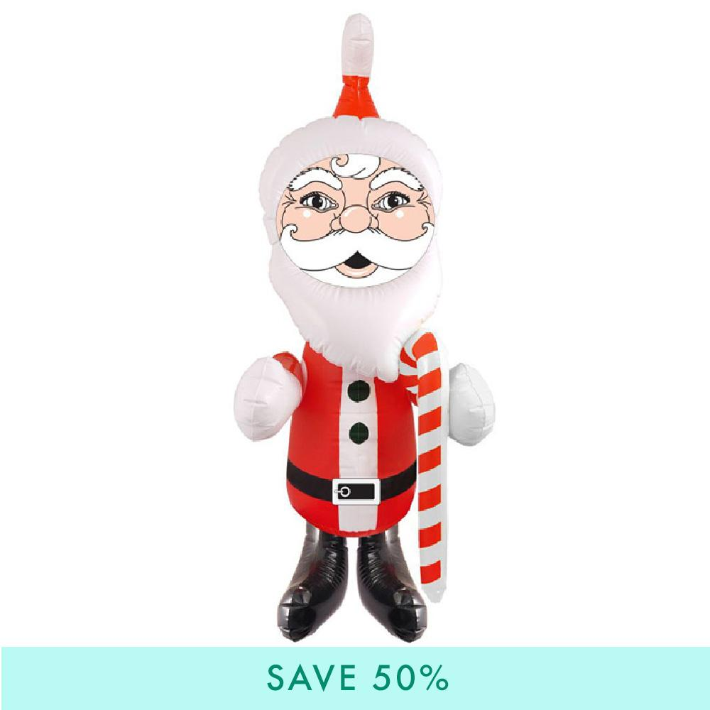Inflatable Santa Decoration