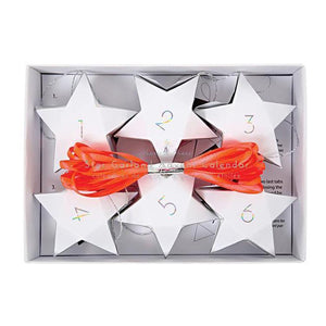 Star Garland Advent Calendar Boxes