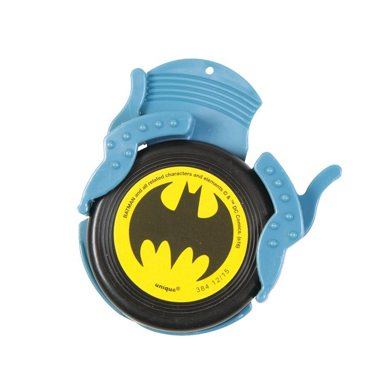 Batman Mini Disc Shooter (x4)