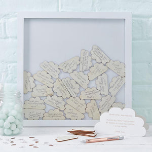 Hello World Drop Top Frame Guest Book