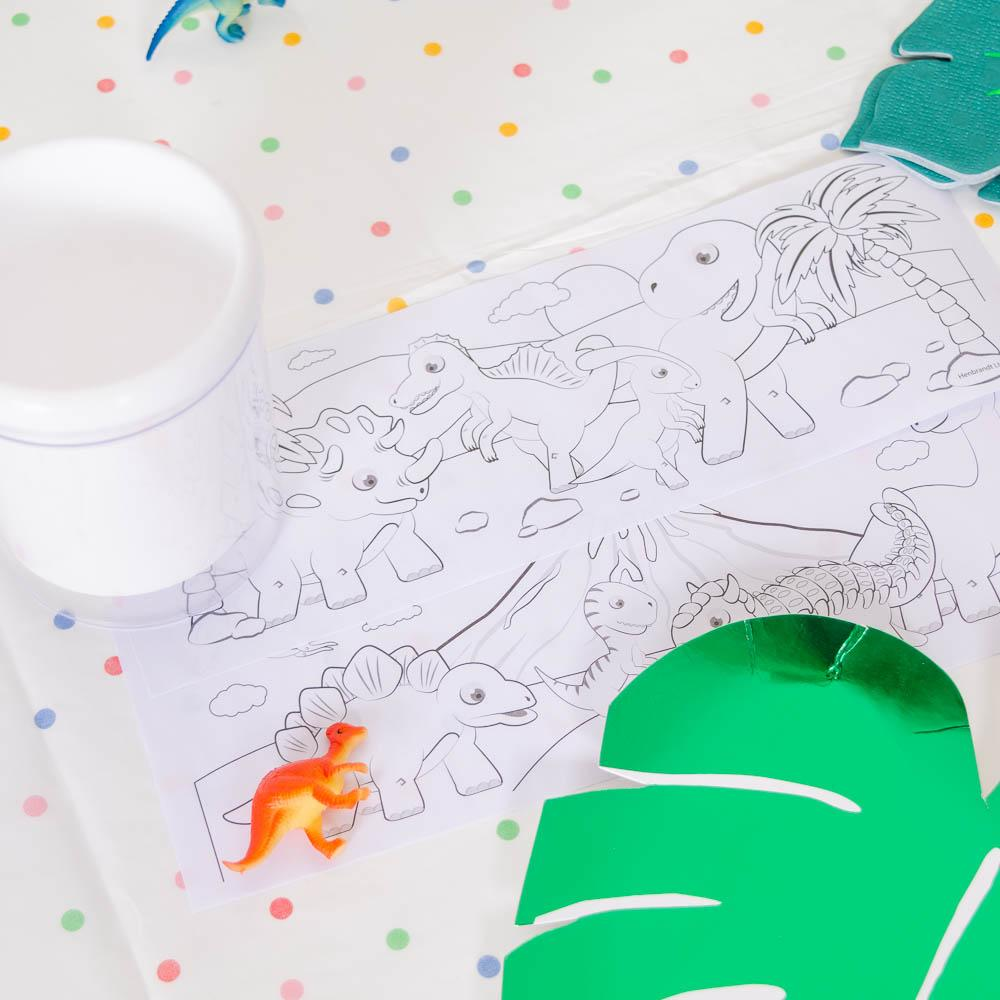 Dinosaur Colouring Mug