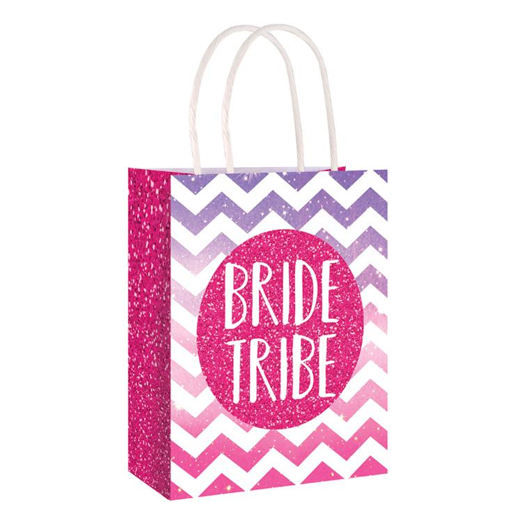 Bride Tribe Hen Party Paper Bag (x6)