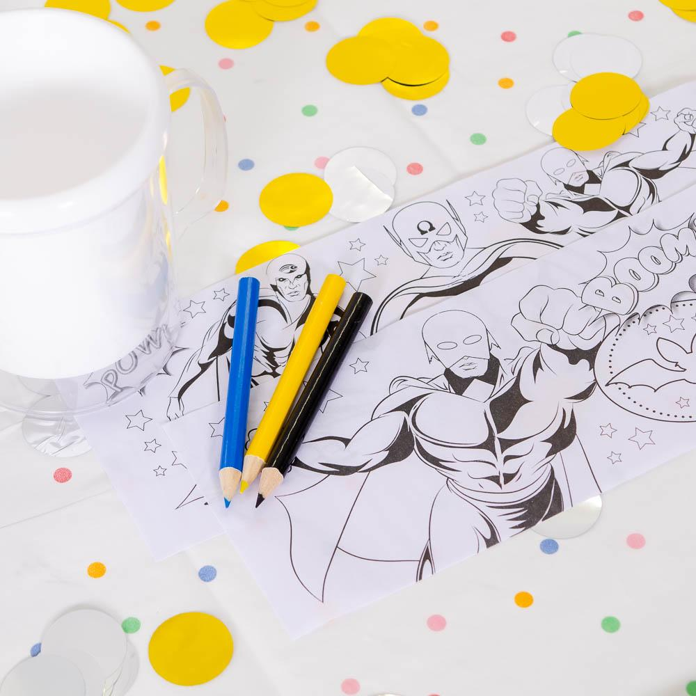 Superhero Colouring Mug