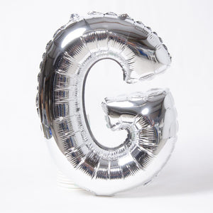 Silver Letter Party Balloon G