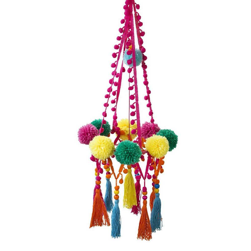 Boho Party - Pom Pom Party Chandelier
