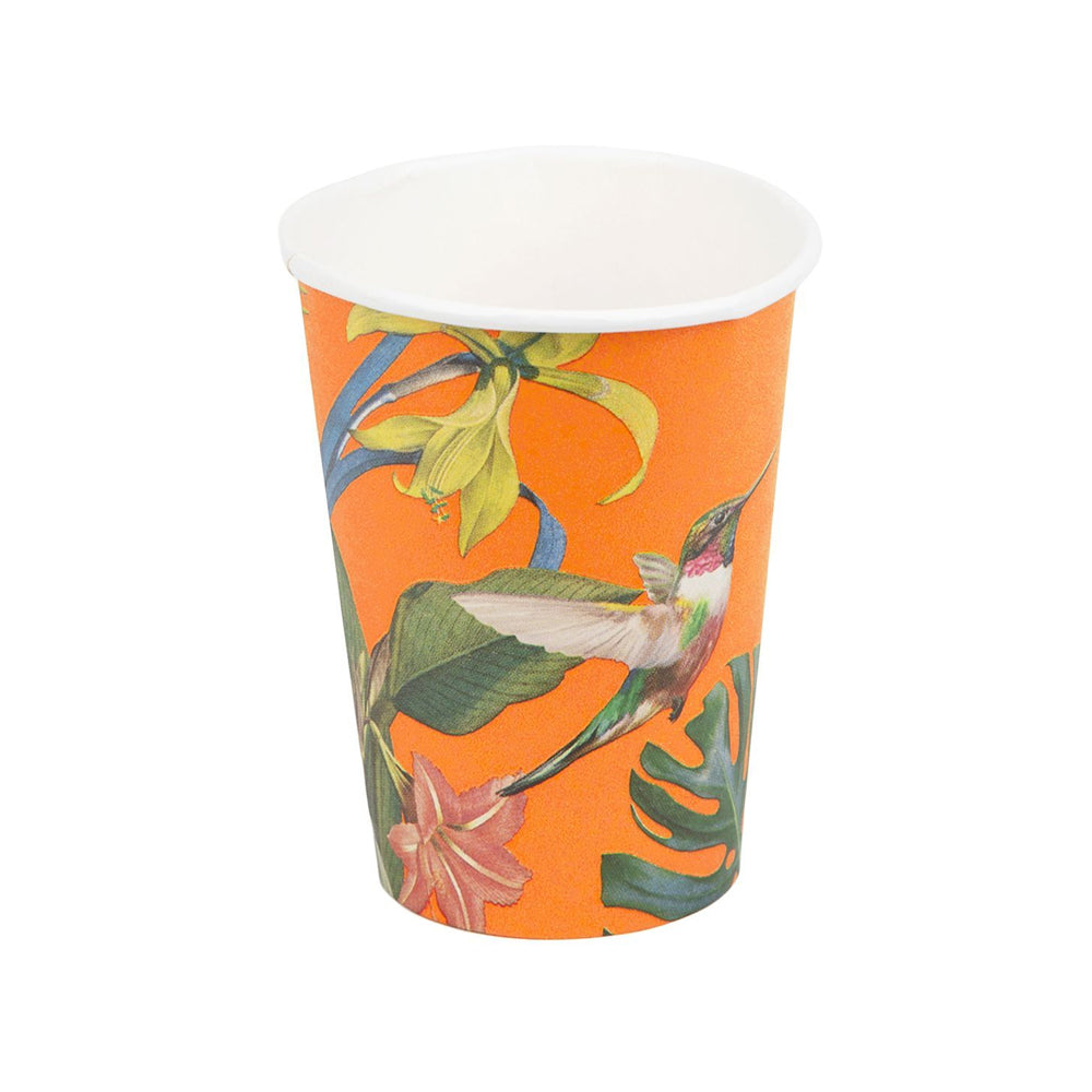 Tropical Fiesta Large Paper Cups (x8)