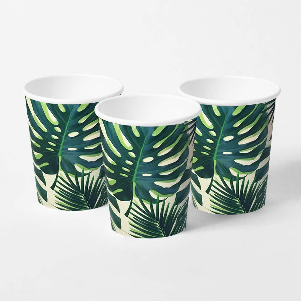 Palm Leaf Party Cups (x8)