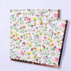 Ditsy Floral Paper Party Napkins (x16)