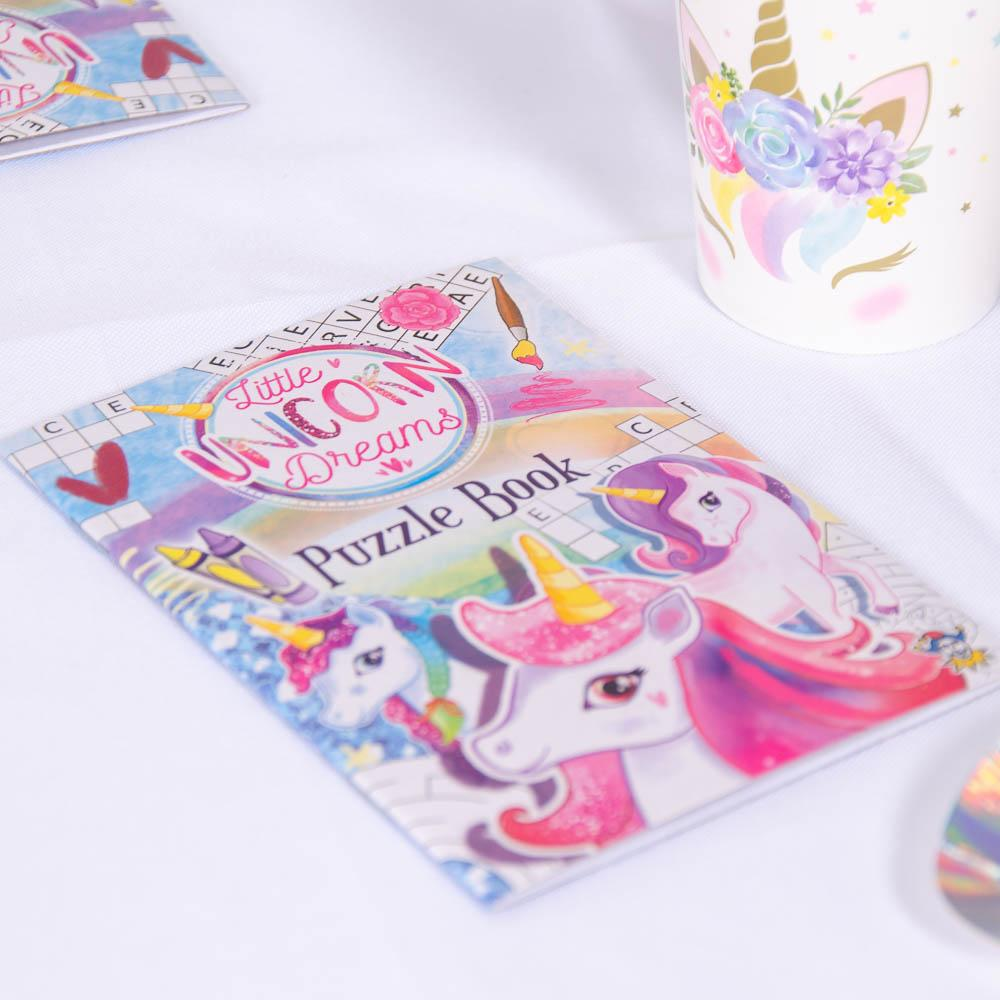 Unicorn Puzzle Books (x6)