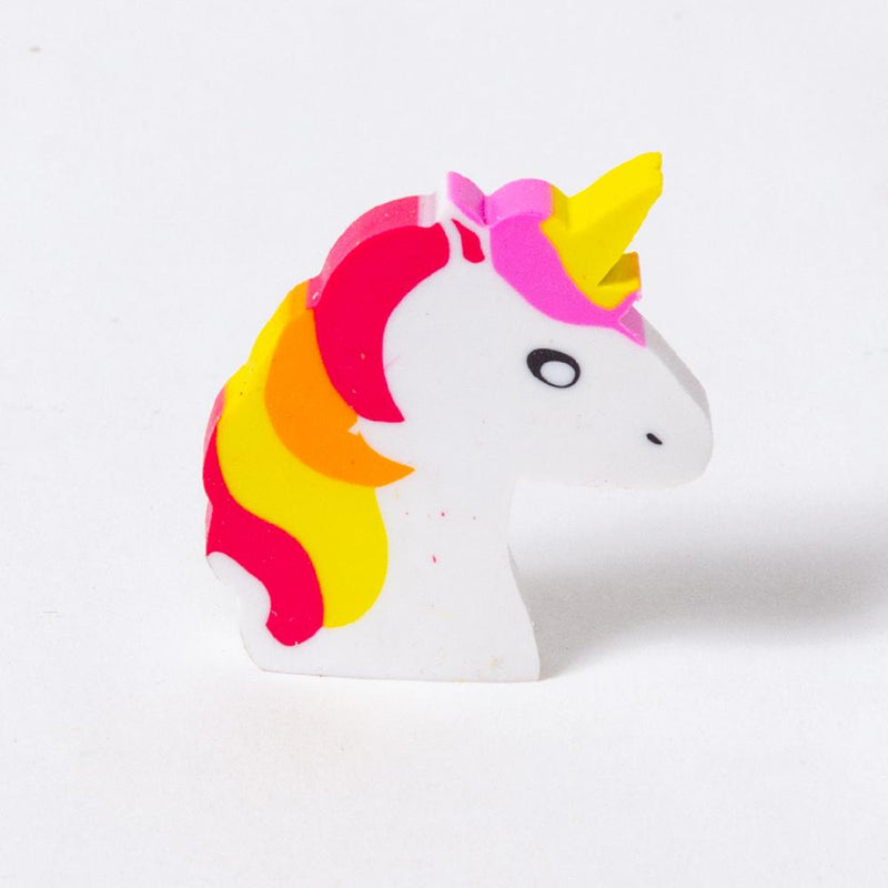 Unicorn Erasers (x4)