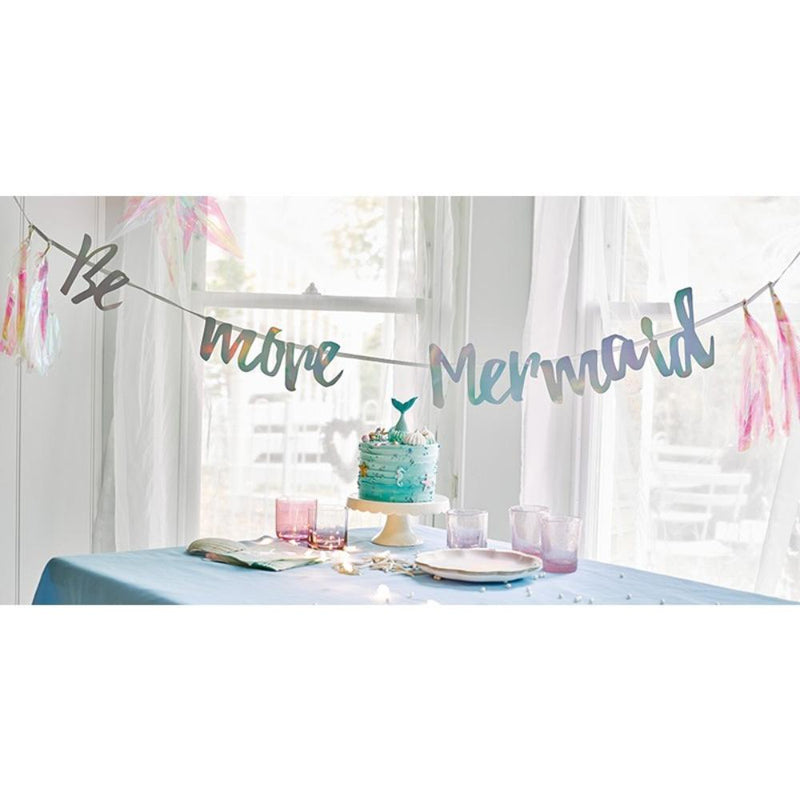 We Heart Mermaids 'Be More Mermaid' Garland with Tassels