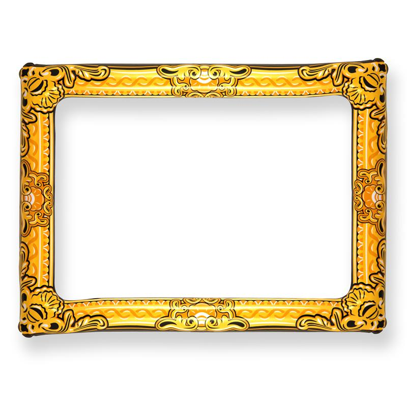 Inflatable Gold Frame Photo Prop