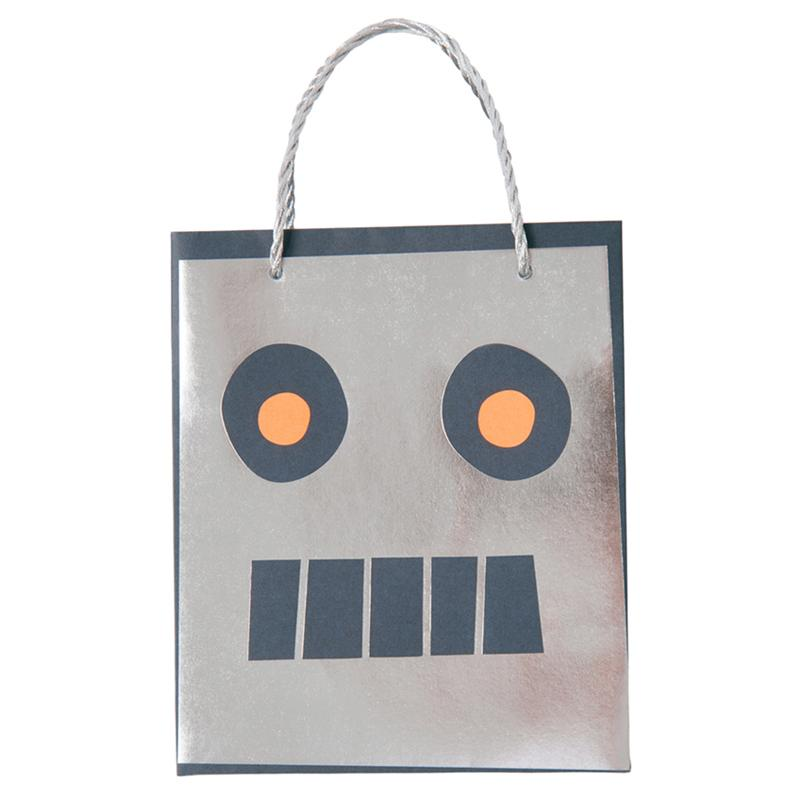 To the Moon Robot Party Bags (x8)