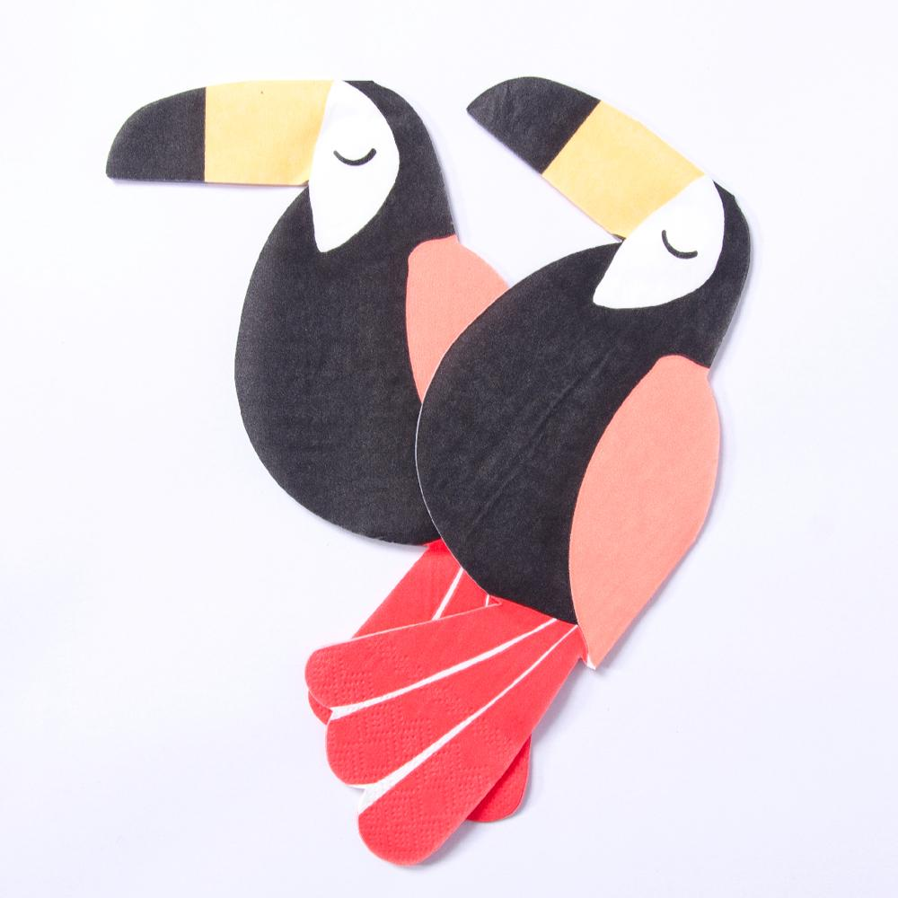 Go Wild Toucan Party Napkins (x20)