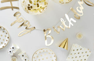 Pick and Mix Gold Party Kit (x16 Guests)