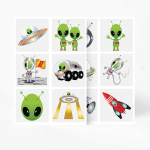 Alien Tattoos (x6)