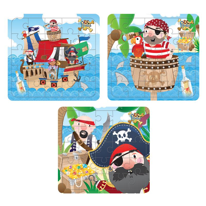Pirate Puzzles (x4)