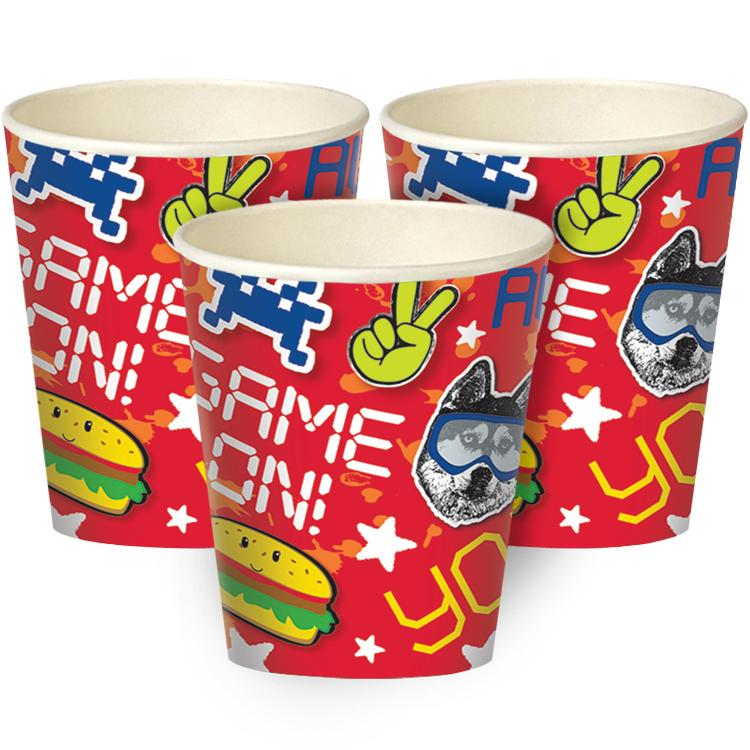 Epic Party Paper Cups (x8)