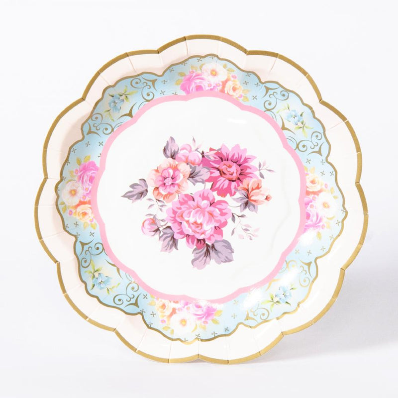 Truly Scrumptious Vintage Paper Plates (x12)