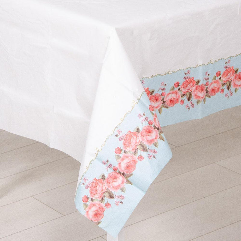 Truly Chintz Paper Party Table Cover
