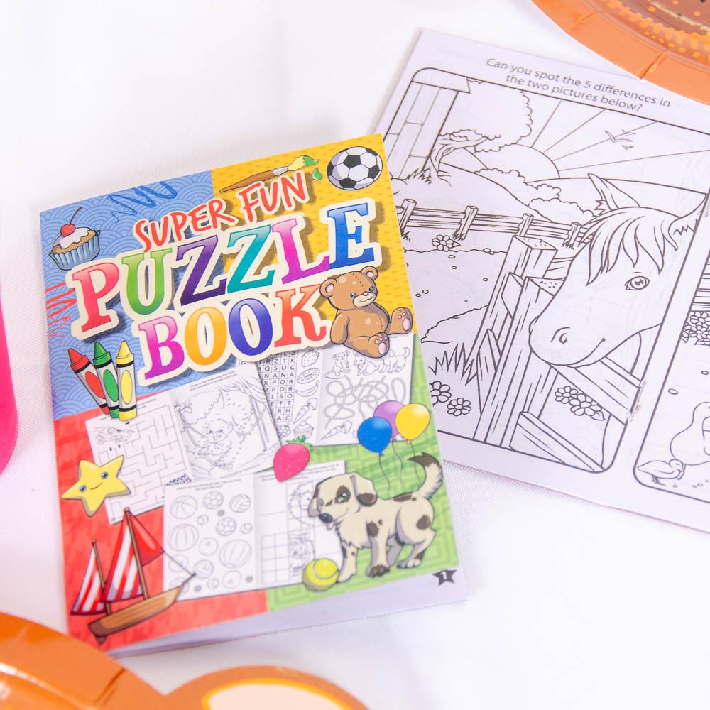 Super Fun Puzzle Books (x6)