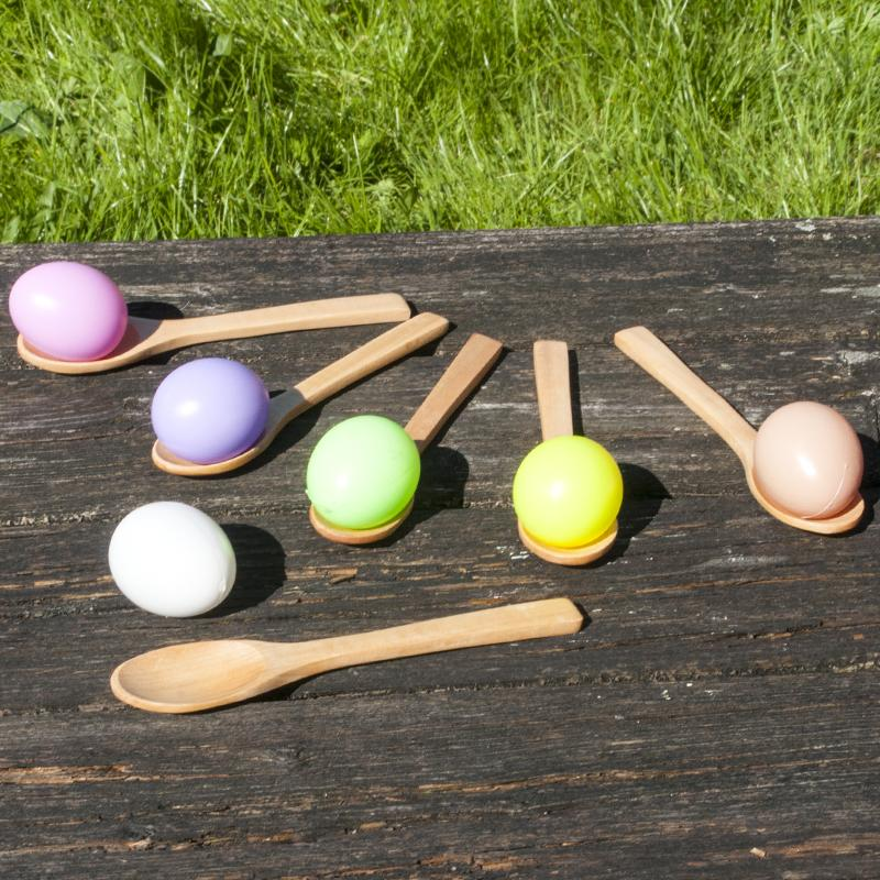 Egg and Spoon Race Party Game