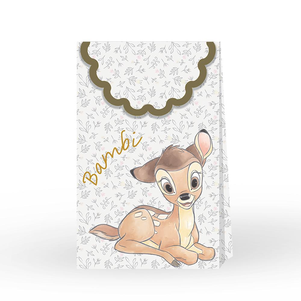 Disney Bambi Cutie Paper Party Bags (x6)