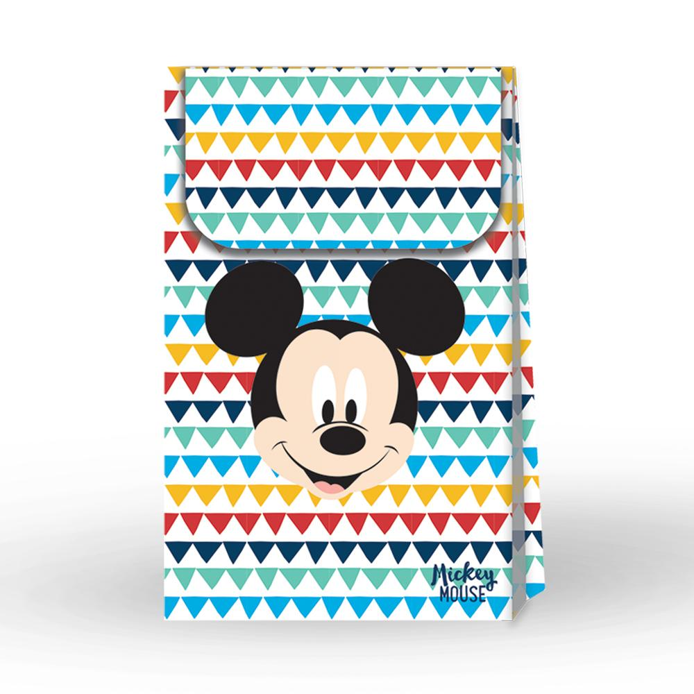 Disney Awesome Mickey Mouse Paper Party Bags (x6)