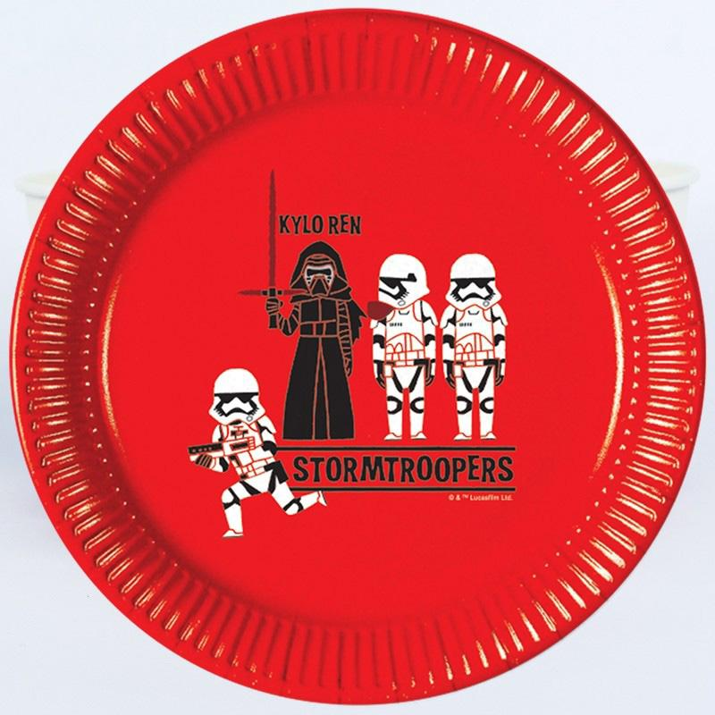 Star Wars Pop Comic Paper Party Plates (x8)