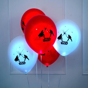 Star Wars LED Party Balloons (x5)