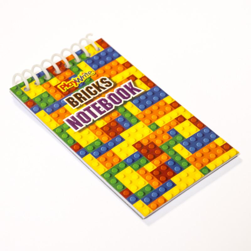 Bricks Notebooks (x4)