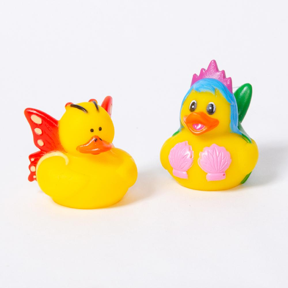 Mermaid Rubber Ducks (x4)