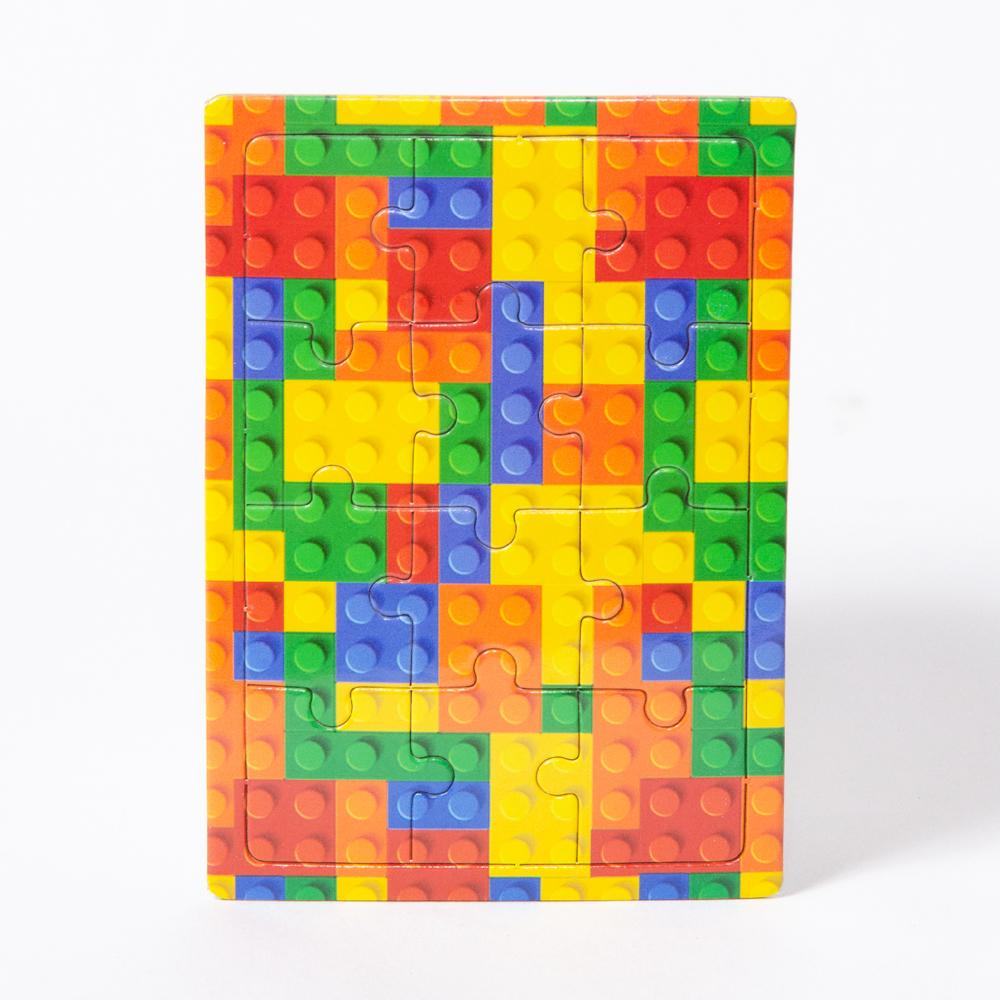 Bricks Jigsaws (x4)
