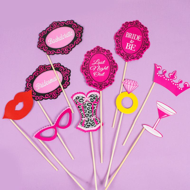 Click to view product details and reviews for Hen Night Photobooth Props X10.