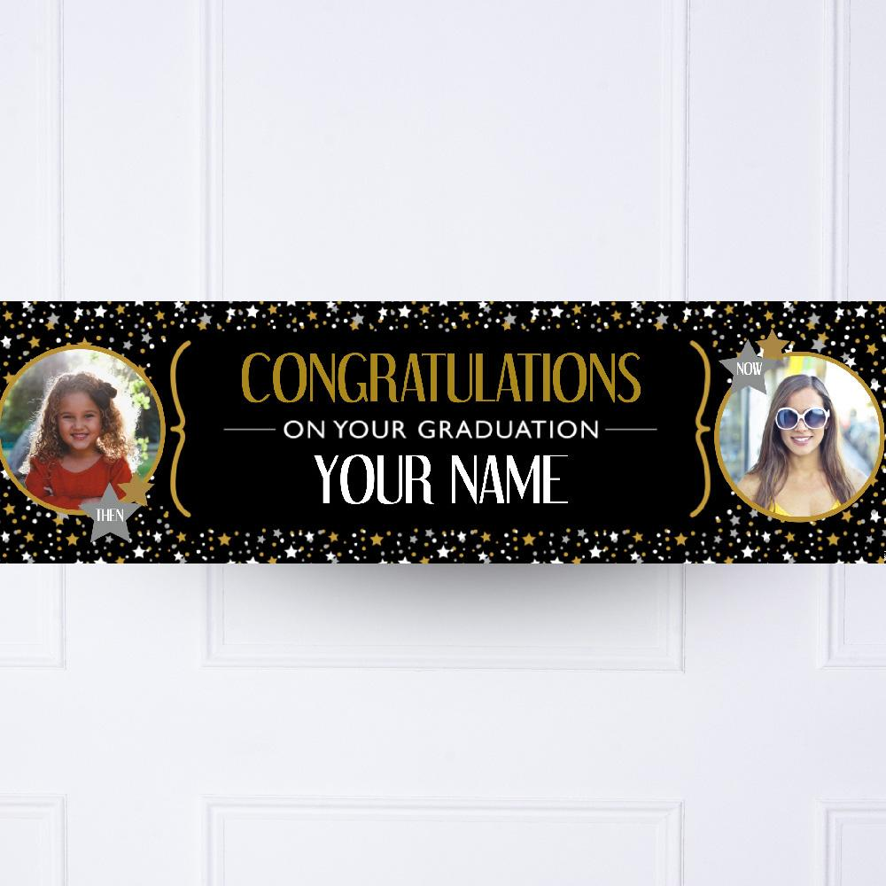 Graduation Personalised Party Banner