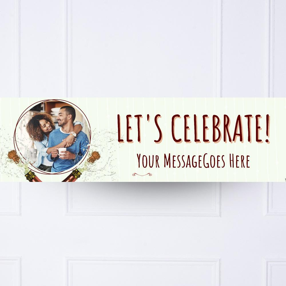 Celebration Personalised Party Banner