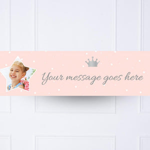 Princess Perfection Personalised Party Banner