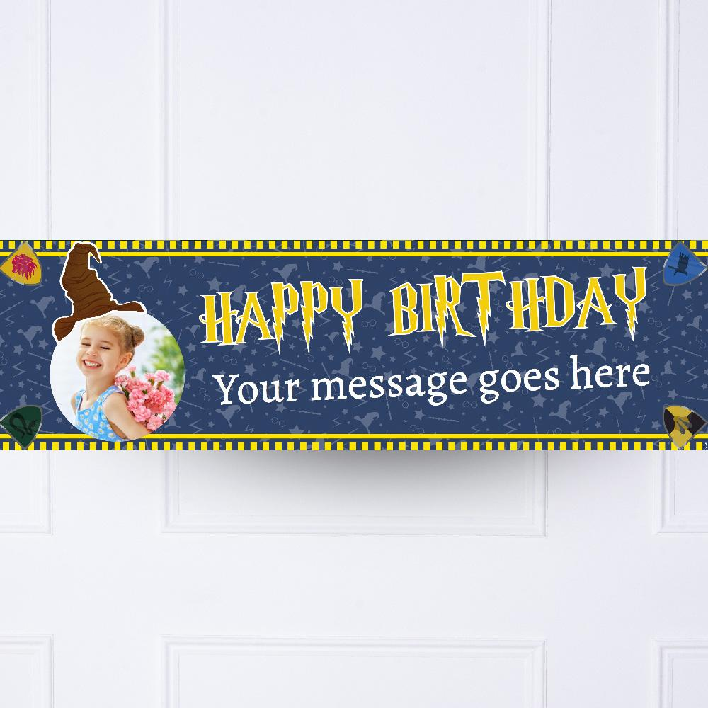 Wizard Magic Personalised Party Banner