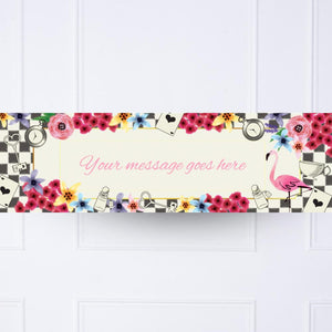 Tea Party Personalised Party Banner