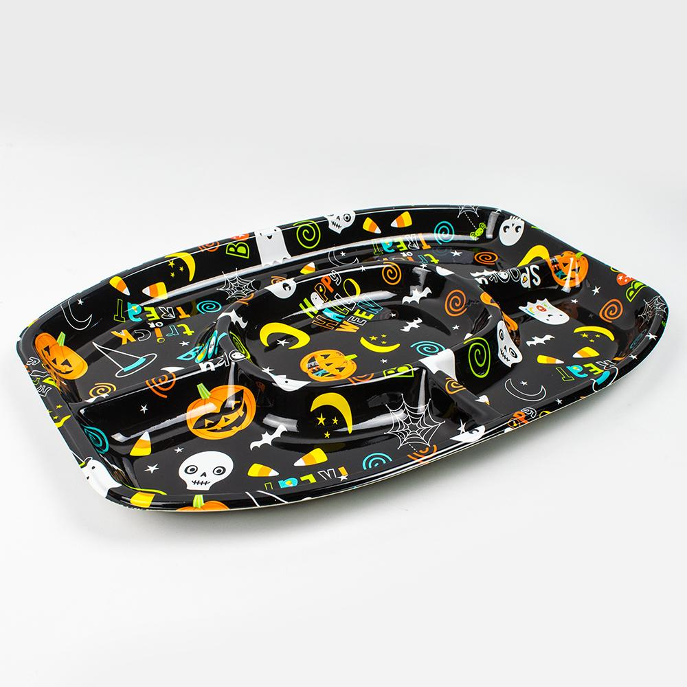 Halloween Friends Sectional Platter