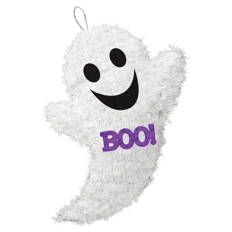 Tinsel Ghost Decoration
