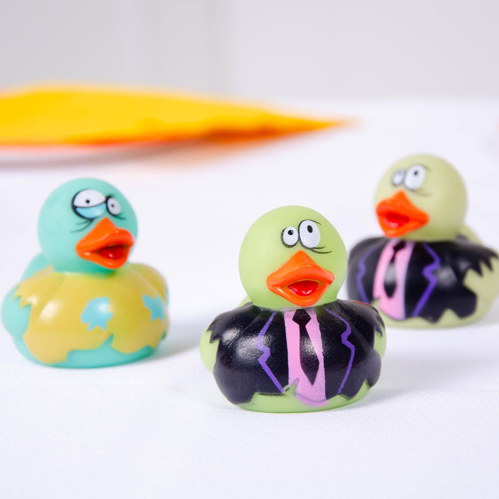 Zombie Rubber Ducks (x4)