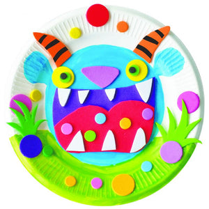 Make Your Own Monster Paper Plate Kit