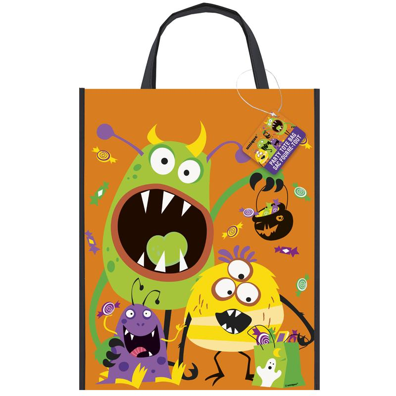 Silly Halloween Monsters Tote Bag