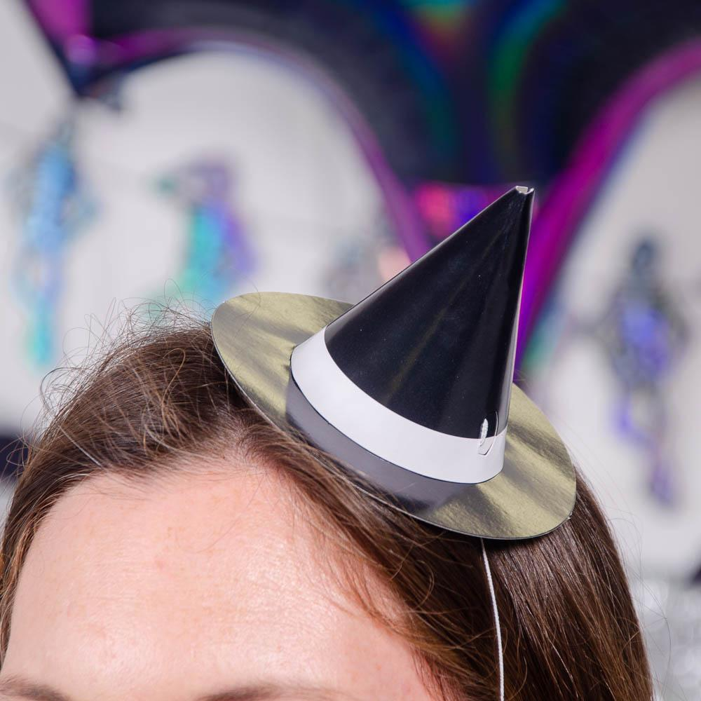 Mini Witch Party Hats (x8)