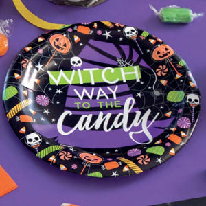 Happy Haunting Paper Party Small Plates (x8)