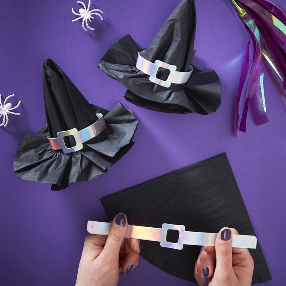 Creep it Real Witch's Hat Paper Napkins (x12)