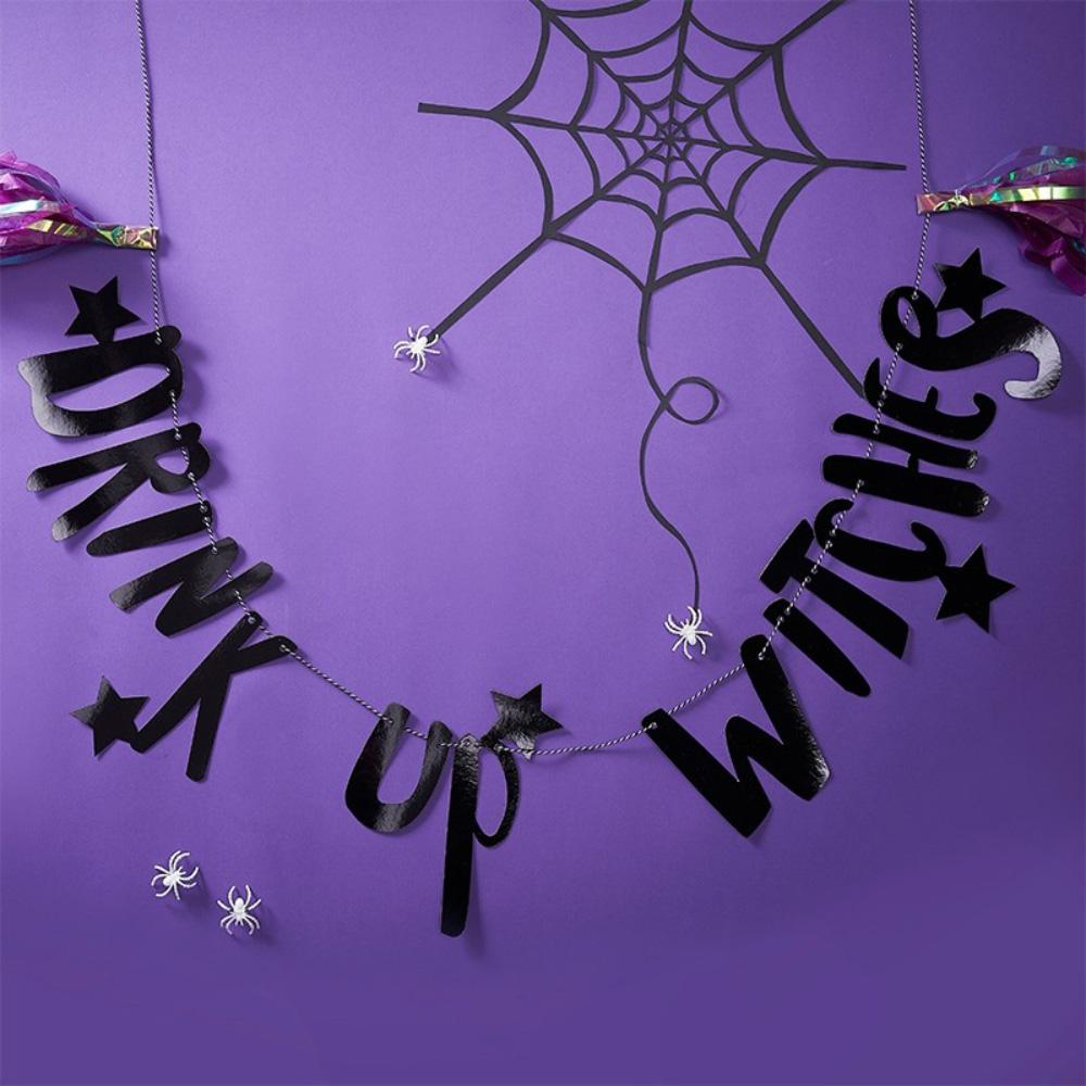 """Drink Up Witches"" Party Bunting (2m)"