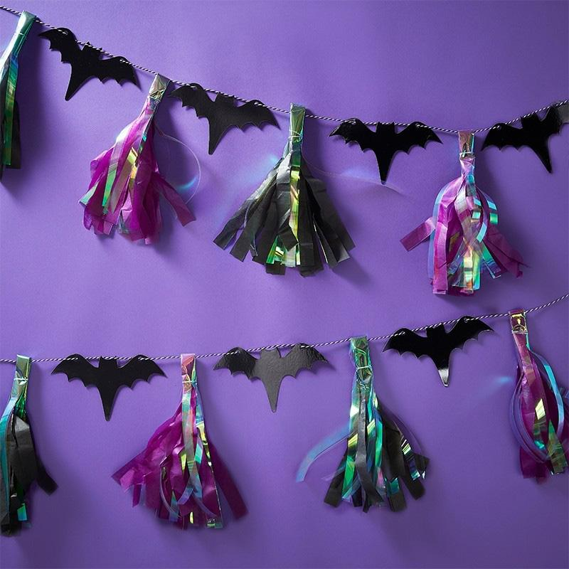 Creep it Real Bats Tassel Garland