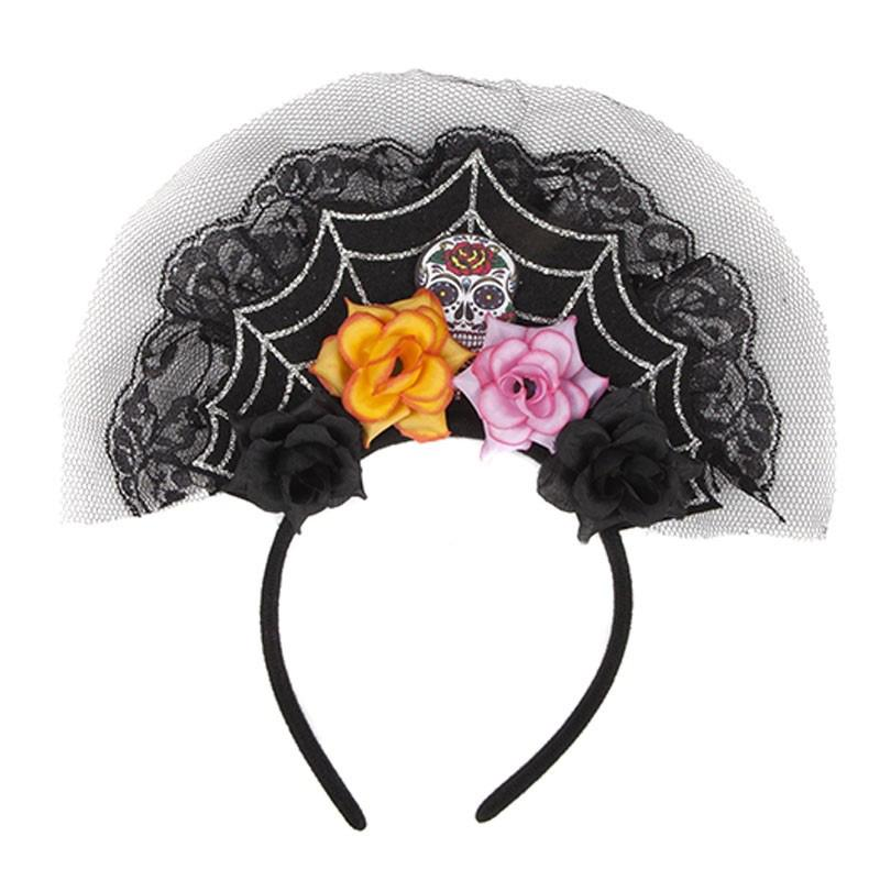 Veiled Halloween Headband